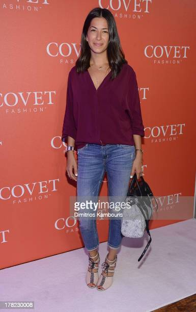 Rebecca Minkoff attends the COVET Fashion Launch Event at 82 Mercer on August 27 2013 in New York City