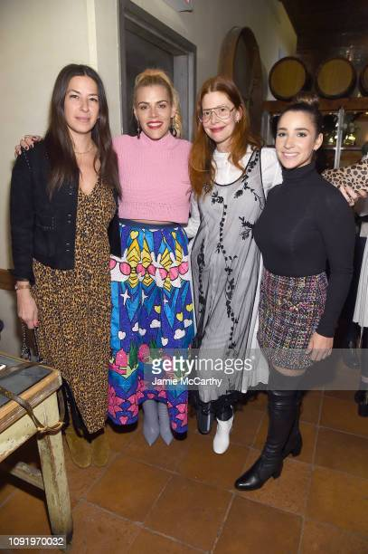 Rebecca Minkoff Busy Phillips Christene Barberich and Aly Raisman attend as Aerie celebrates #AerieREAL Role Models in NYC on January 31 2019 in New...