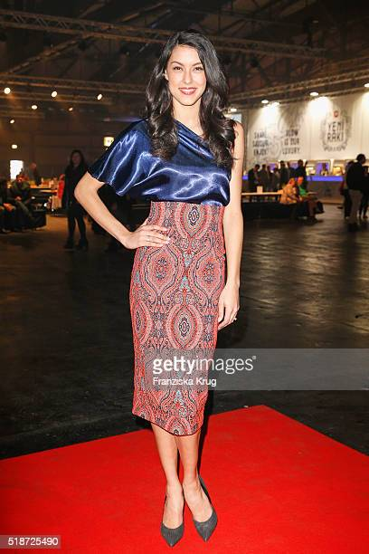 Rebecca Mir attends Spirit of Istanbul by Yeni Raki at Station on April 2 2016 in Berlin Germany