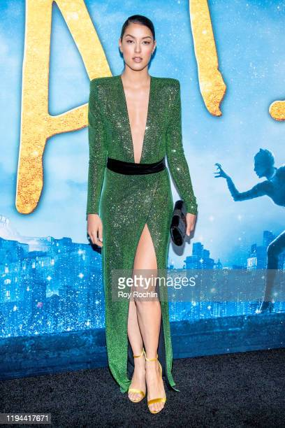 """Rebecca Mir attends the """"Cats"""" World Premiere at Alice Tully Hall, Lincoln Center on December 16, 2019 in New York City."""