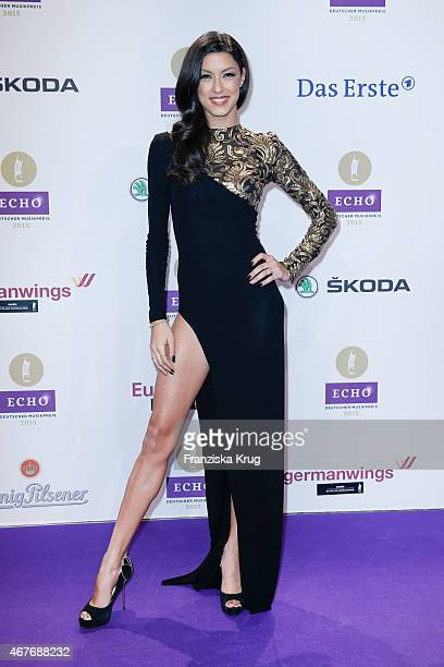 Rebecca Mir attends the Echo Award 2015 on March 26 2015 in Berlin Germany