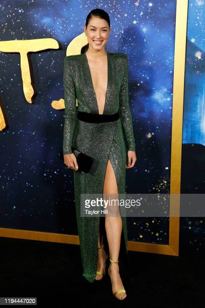 Rebecca Mir attends the world premiere of Cats at Alice Tully Hall Lincoln Center on December 16 2019 in New York City