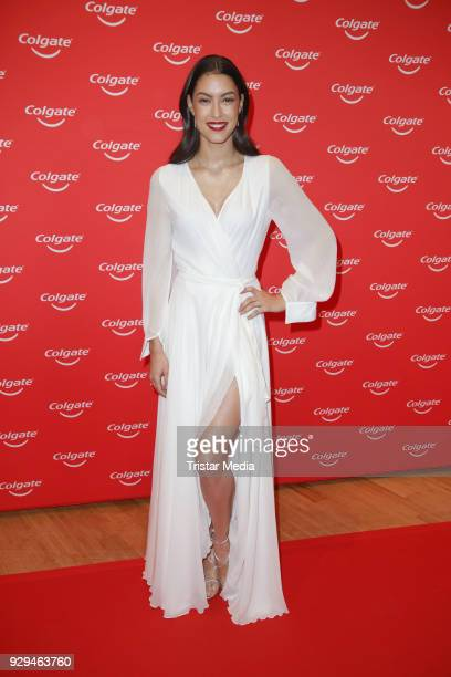 Rebecca Mir during the Colgate White Night at Apartimentum on March 8 2018 in Hamburg Germany