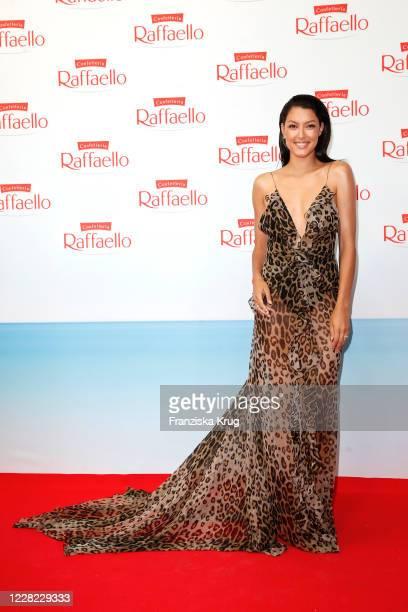 Rebecca Mir during the Raffaello Summer Dinner 2020 on August 27, 2020 in Berlin, Germany.