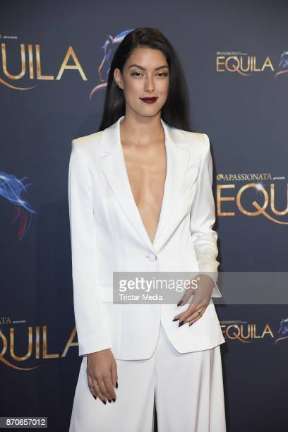 Rebecca Mir during the world premiere of the horse show 'EQUILA' at Apassionata Showpalast Muenchen on November 5 2017 in Munich Germany