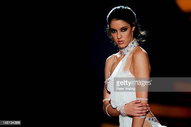Rebecca Mir performs during 'Let's Dance' Finals at Coloneum on May 23 2012 in Cologne Germany