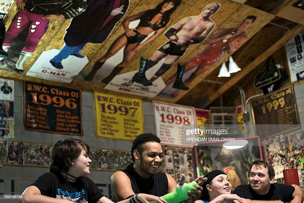 Rebecca Moody A Wrestler Whose Ring Name Is Delilah Blue Ken Thomas A Wrestler Whose Ring Name Is Bellamy Koga Jessie Campbell A Wrestler Whose Ring