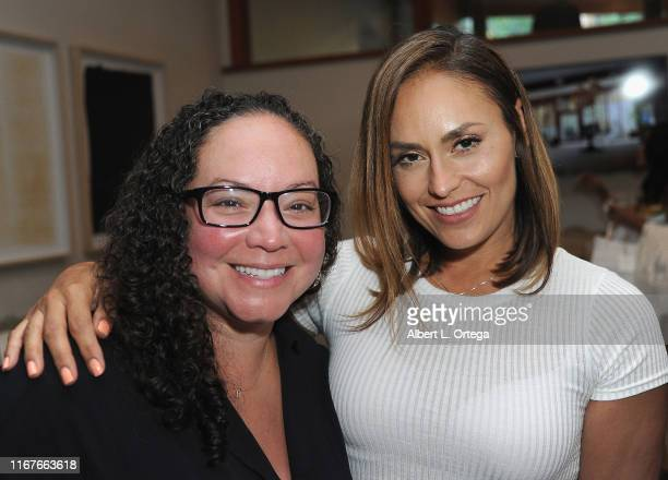 Rebecca Murja and Jes Meza attend the Modern Muse Collective Launch held at Calamigos Guest Ranch on August 11 2019 in Malibu California