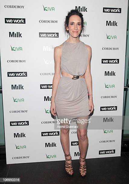 Rebecca Paltrow attends the Corduroy Magazine launch & exhibition presented by We Work at Milk Gallery on June 10, 2010 in New York City.
