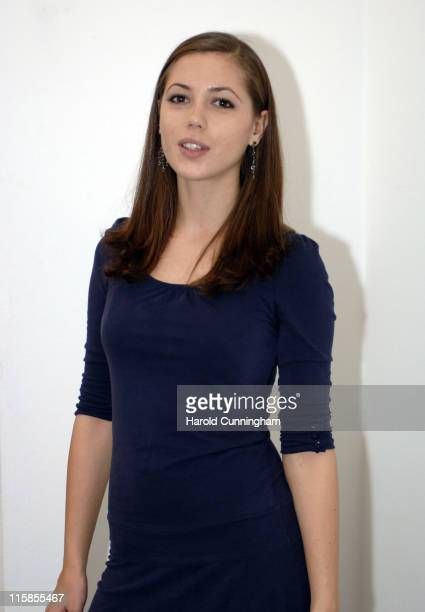 """Rebecca Pitkin during Zone Horror's """"When Evil Calls"""" Halloween Launch - October 31, 2006 at Institute of Contemporary Arts in London, Great Britain."""