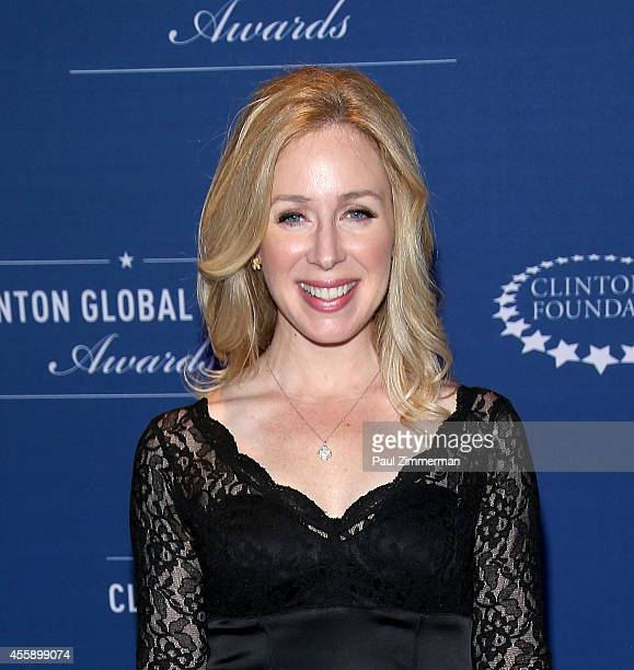 Rebecca Quick attends the 8th Annual Clinton Global Citizen Awards And CGCA Blue Carpet at Sheraton New York Times Square on September 21 2014 in New...