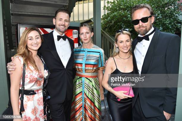 Rebecca Revel Andreas Ronning Anne Britt Ronning Amanda Hearst and Joachim Ronning attend Hearst Castle Preservation Foundation Hollywood Royalty...