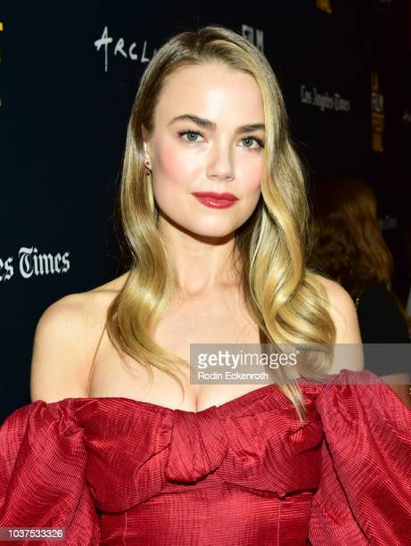Rebecca Rittenhouse arrives at the 2018 LA Film Festival Gala screening of The Body at Writers Guild Theater on September 21 2018 in Beverly Hills...