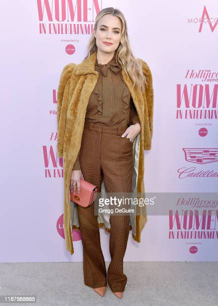 Rebecca Rittenhouse arrives at The Hollywood Reporter's Annual Women in Entertainment Breakfast Gala at Milk Studios on December 11 2019 in Hollywood...