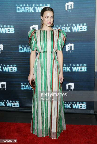 Betty Gabriel arrives to the Los Angeles premiere of Blumhouse Productions and Universal Pictures' 'Unfriended Dark Web' held at LA LIVE on July 17...