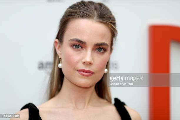 Rebecca Rittenhouse attends Amazon Studios premiere of Don't Worry He Wont Get Far On Foot at ArcLight Hollywood on July 11 2018 in Hollywood...