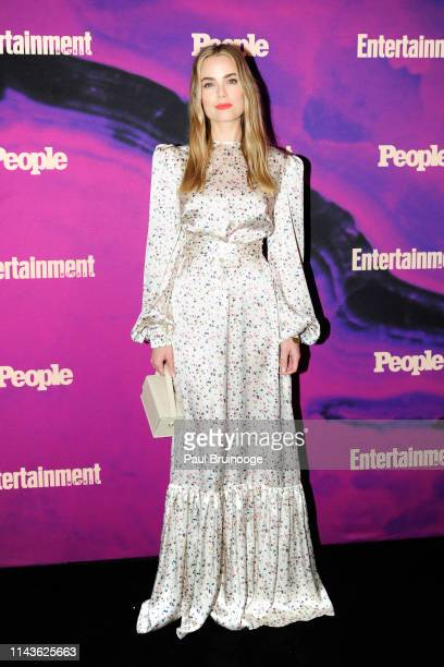 Rebecca Rittenhouse attends Entertainment Weekly And People Celebrate The New York Upfronts at Union Park NYC on May 13 2019 in New York City