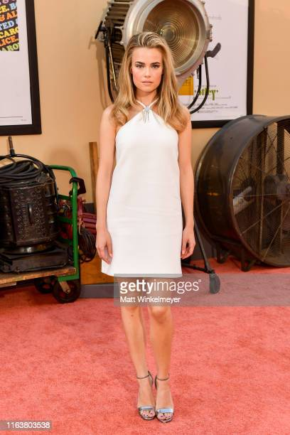 Rebecca Rittenhouse attends Sony Pictures' Once Upon A TimeIn Hollywood Los Angeles Premier on July 22 2019 in Hollywood California