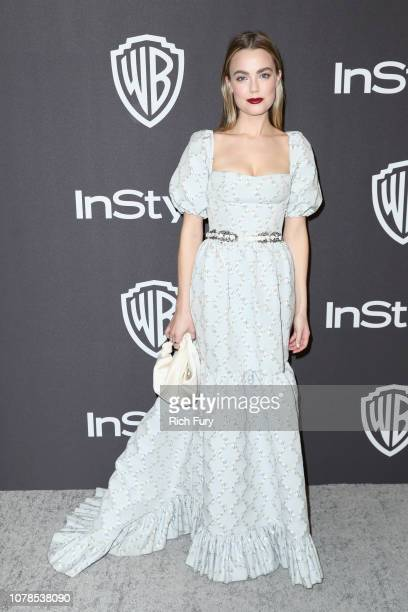 Rebecca Rittenhouse attends the InStyle And Warner Bros Golden Globes After Party 2019 at The Beverly Hilton Hotel on January 6 2019 in Beverly Hills...
