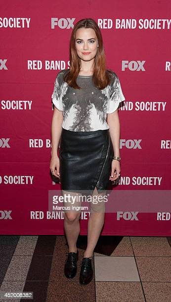Rebecca Rittenhouse attends the 'Red Band Society' screening at Regal Atlantic Station on July 10 2014 in Atlanta Georgia