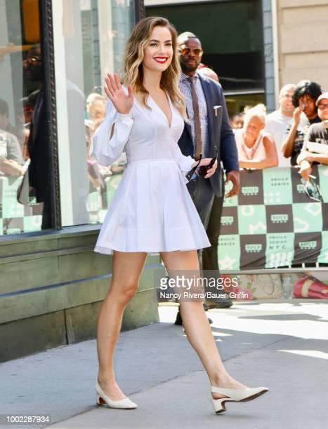 Rebecca Rittenhouse is seen on July 19 2018 in New York City