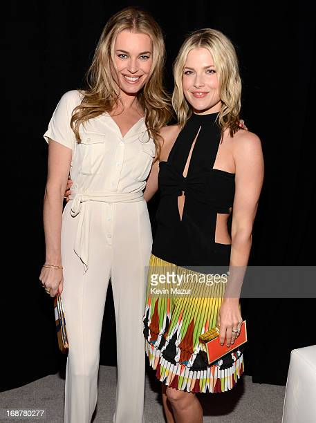 Rebecca Romijn and Ali Larter attend the 2013 TNT/TBS Upfront at Hammerstein Ballroom on May 15 2013 in New York City 23562_002_0804JPG
