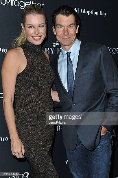 Rebecca Romijn and Jerry O'Connell arrives at the 2nd Annual Baby Ball Gala at NeueHouse Hollywood on November 11 2016 in Los Angeles California
