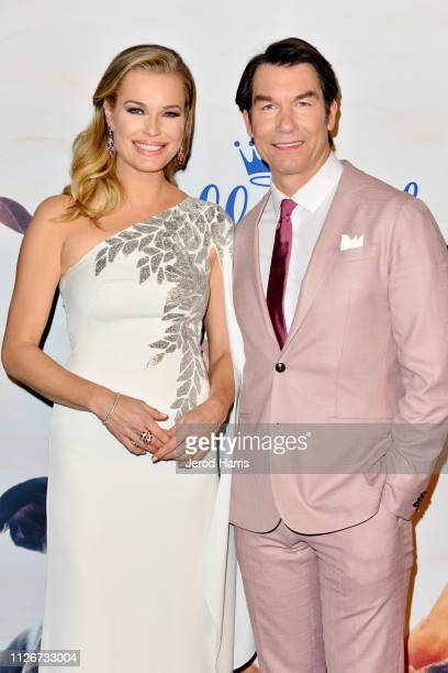 Rebecca Romijn and Jerry O'Connell attend the Hallmark Channel's 2019 American Rescue Dog Show at Pomona Fairplex on January 13 2019 in Pomona...