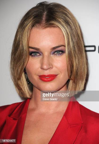 Rebecca Romijn arrives at the 2nd Annual Baby2Baby Gala at The Book Bindery on November 9 2013 in Culver City California