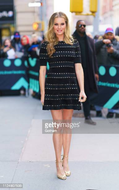 Rebecca Romijn at AOL Build on February 14 2019 in New York City