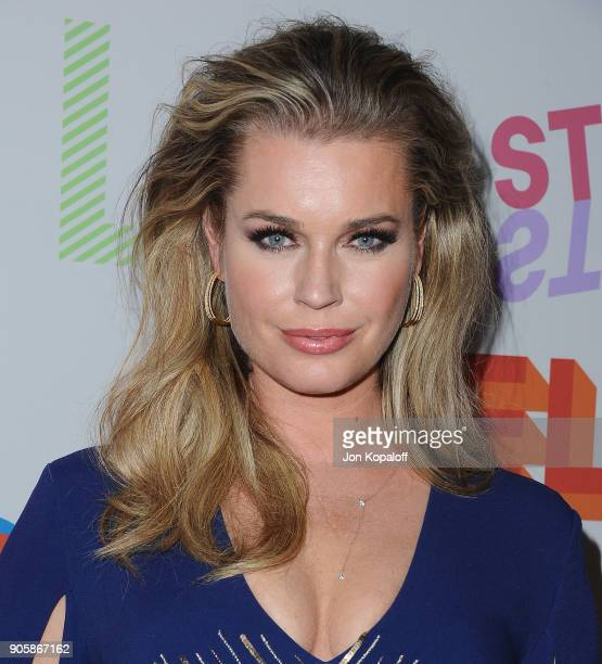 Rebecca Romijn attends Stella McCartney's Autumn 2018 Collection Launch on January 16 2018 in Los Angeles California