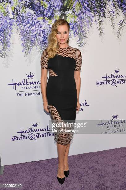 Rebecca Romijn attends the 2018 Hallmark Channel Summer TCA at Private Residence on July 26 2018 in Beverly Hills California