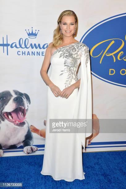Rebecca Romijn attends the Hallmark Channel's 2019 American Rescue Dog Show at Pomona Fairplex on January 13 2019 in Pomona California