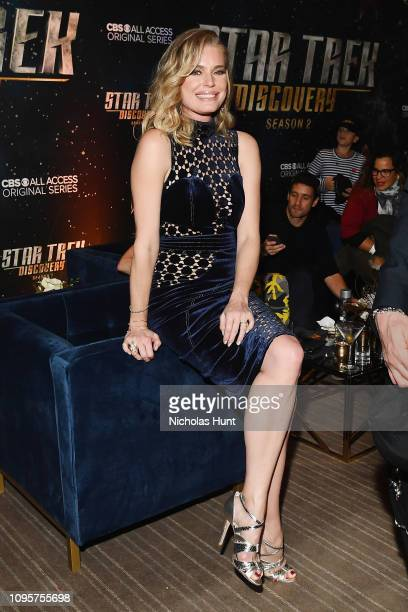 Rebecca Romijn attends the 'Star Trek Discovery' Season 2 after party at the Conrad New York on January 17 2019 in New York City