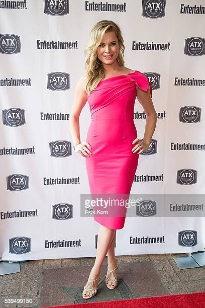 Rebecca Romijn attends the Ugly Betty Reunion presented with Entertainment Weekly at the ATX Television Festival in Austin TX on Saturday June 11 2016