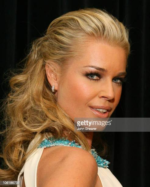 Rebecca Romijn during 18th Annual GLAAD Media Awards - Los Angeles - Red Carpet at Kodak Theater in Los Angeles, California, United States.