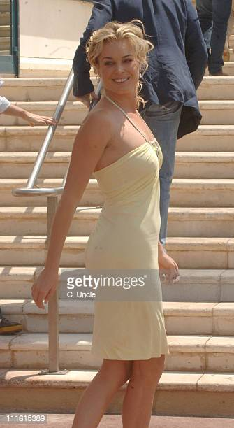 Rebecca Romijn during 2006 Cannes Film Festival Seen Around Town Day 7 in Cannes France