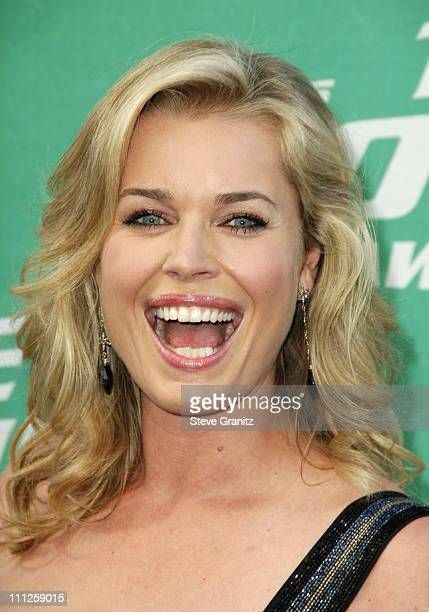 Rebecca Romijn during 2006 MTV Movie Awards Arrivals at Sony Pictures in Culver City California United States