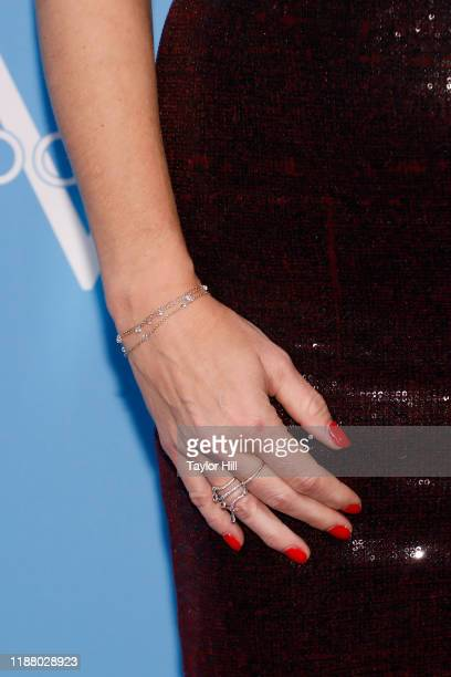 Rebecca Romijn jewelry detail attends The Humane Society Of The United States To The Rescue New York Gala at Cipriani 42nd Street on November 15 2019...