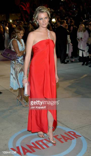 Rebecca RomijnStamos during 2004 Vanity Fair Oscar Party at Mortons in Beverly Hills California United States