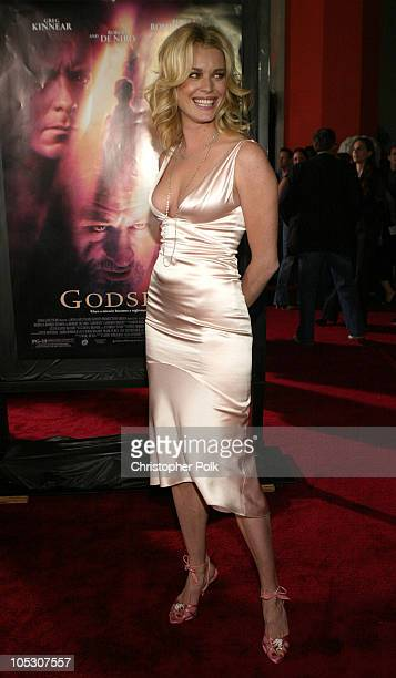 Rebecca RomijnStamos during 'Godsend' Los Angeles Premiere Arrivals at Grauman's Chinese Theatre in Hollywood California United States