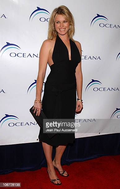 Rebecca RomijnStamos during Senator Hillary Rodham Clinton Honored at The 1st Annual Oceana Partners Award Dinner at Century Plaza Hotel in Century...