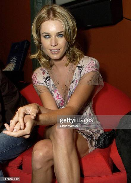 Rebecca RomijnStamos visits McKinley Pierre during 2003 Teen Choice Awards Backstage Creations Day of Show at Universal Amphitheatre in Universal...