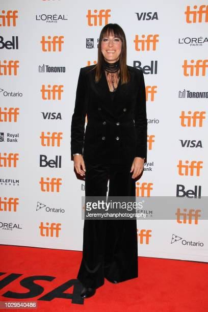 Rebecca Root attends the 'The Sisters Brothers' Premiere during the 2018 Toronto International Film Festival at Princess of Wales Theatre on...