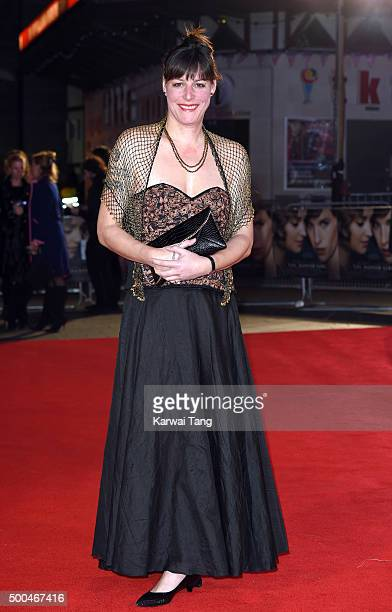 Rebecca Root attends the UK Film Premiere of The Danish Girl on December 8 2015 in London United Kingdom