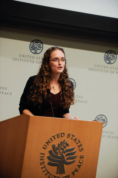 Rebecca Saxe speaks during The Science Of Impact at U.S. Institute Of Peace on October 15, 2012 in Washington, DC.