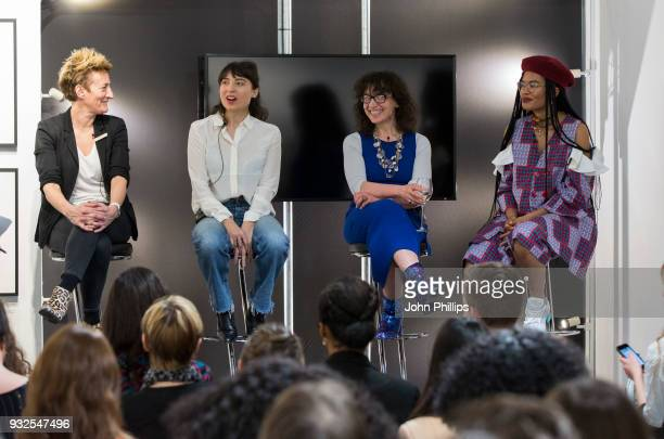 Rebecca Swift, Director of Creative Insight, Getty Images, Charlotte Jansen, author and journalist, Sue Unerman, Chief Transformation Officer,...
