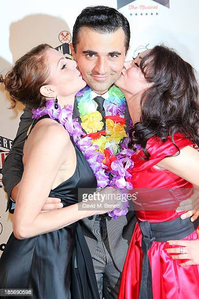 Rebecca Thornhill Darius Campbell and Siubhan Harrison attend an after party celebrating the press night performance of From Here To Eternity at The...