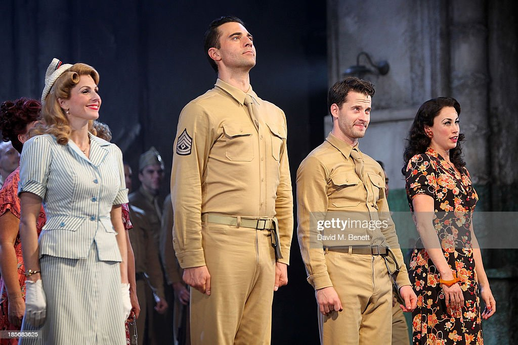 """""""From Here To Eternity"""" - Press Night - Curtain Call & Foyer"""