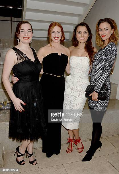 Rebecca Trehearn Rosalie Craig Samantha Barks and Katherine Kelly attend the City Of Angels Press Night After Party at The Hospital Club on December...